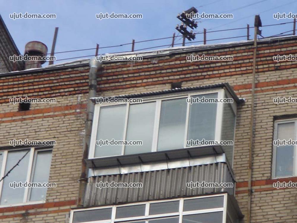 Крыши над балконами установка крыши на балкон в комплексе с .